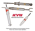 KYB Front Shock Absorbers C2 Corvette,1963-67,Pair
