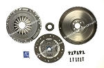 SACHS Clutch/Solid Flywheel Kit,Volkswagen Golf,2000-06,1.8L,Turbo,5 Speed